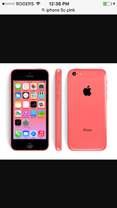 Pink iPhone 5c immaculate condition
