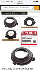 Yamaha motor boot