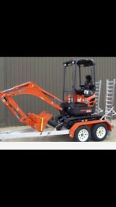 EXCAVATOR HIRE DIY  1 tonners on trailers ranging up to 36 tonne Sydney City Inner Sydney Preview