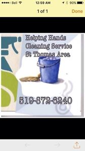 Helping Hands Cleaning St Thomas area  London Ontario image 1
