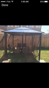 Gazebo and table set for sale