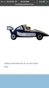 Loveable creations 720 Race Car kids wall art Strathcona County Edmonton Area image 1