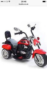 Ride on motor bike