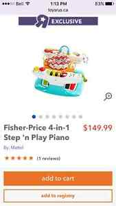 Fisher-Price 4-in-1 Step 'n Play Piano London Ontario image 1