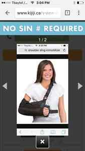 Ice man cryo cuff/ shoulder sling immobilizer right or left