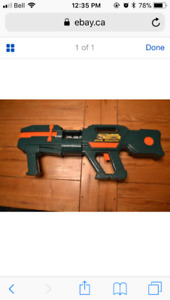 Belt Blaster Nerf Machine Gun Green