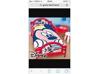 Kids Micky mouse bed frame