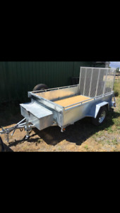 Amazing fully dipped galvanized trailer