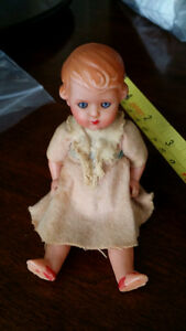 Many Old tiny Dolls Porcelain, bisque,rubber, plastic