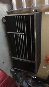 Snap on tool box and side cabinet