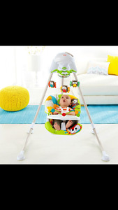 Fisher Price Woodlands Swing