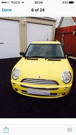 Mini one 1.6limited edition