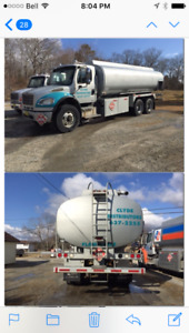 FUEL OIL DELIVERY TRUCK-FREIGHTLINER