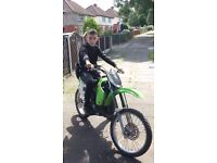 Kawasaki Kx 100 FOR SALE OR SWAPS FOR A PITBIKE WITH CASH MY WAY