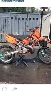 Selling a very clean and powerful KTM 250SX 2 STROKE