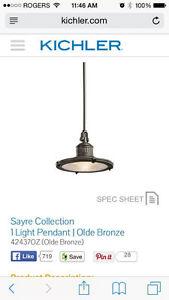 42437OZ Sayre One Light Pendants & 300020 4 Light Kittery Point