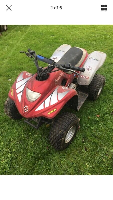 Apache quad bike petrol