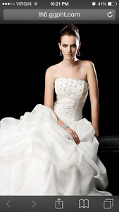 Wedding Gown-never used
