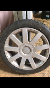 17 inch original volks gti mags on continental summer tires or
