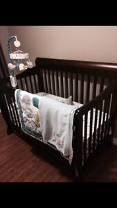 Crib bedding and more, all NEVER USED!