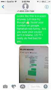 SELLERS BEWARE!!!! SCAMS ON KIJIJI Regina Regina Area image 3
