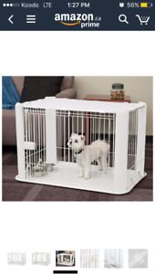 Small dog/ puppy crate brand new.