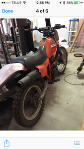 85 Honda 350 Dirt Bike