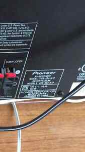 Pioneer 5.1 surround sound receiver, Panasonic speakers