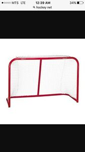Official size hockey net trade for BMX parts