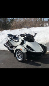 2012 Canam Spyder RS. With extended warranty until 2022