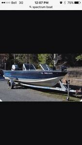 ISO welded aluminum project boat