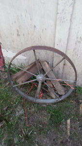 roue de brouette antique