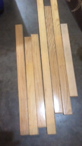 Hardwood light oak used flooring,403-928-6214