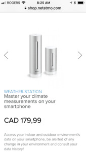 Weather station for smart phones.
