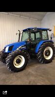 New Holland TL 100 For summer rental