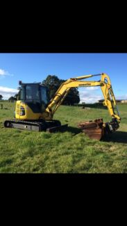 5t excavator with operator West Ulverstone Central Coast Preview