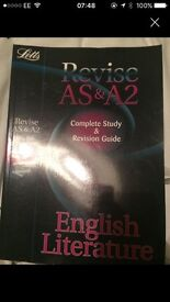 Revise As &A2 English literature