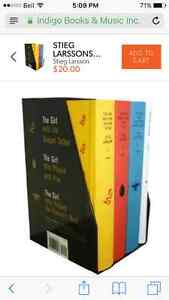 Girl with the dragon tattoo series NEW boxed set