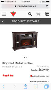 Fire place/ tv stand