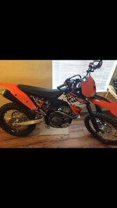Reduced 2008 Ktm 450sxf with recluse