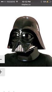 Wanted Darth Vader two piece helmet.
