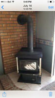 Osburn wood burning stove