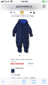 Baby Gap Snowsuit!
