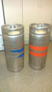 Beer kegs and coupler