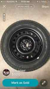 NEW continental extreme winter contact tires Cambridge Kitchener Area image 1