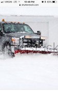 ISO snow plow services
