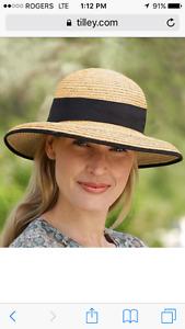 Women's Tilley Raffia hat