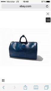 Louis Vuitton épi bag 50 bleue