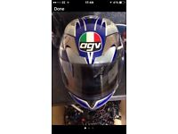 agv motorbike helmet and gloves absolute bargain