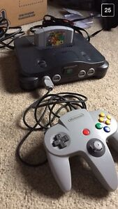 N64 and games for sale- 2 controllers